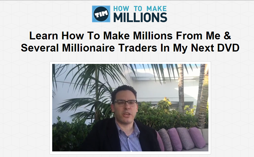 Download Tim Sykes - How To Make Millions