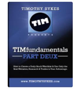 Download Timothy Sykes– TIMfundamentals Part Deux