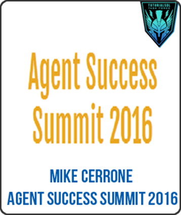 Download Mike Cerrone - Agent Success Summit (2016)