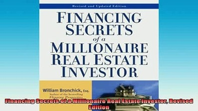 Financing Secrets of a Millionaire Real Estate Investor (www.fttuts.com)