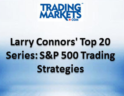 top 20 series s&p 500 trading strategies