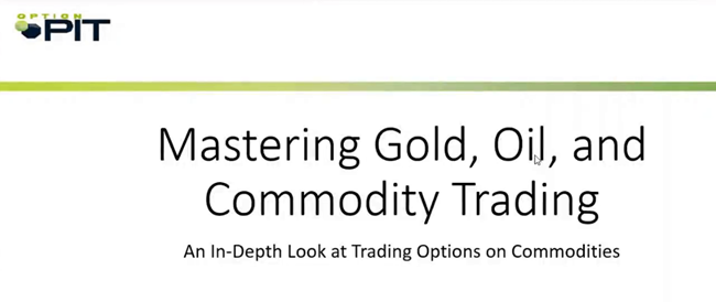 Download Option Pit - Options for Gold, Oil and Other Commodities