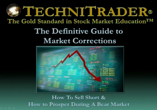 Download TechniTrader - The Definitive Guide to Market Corrections