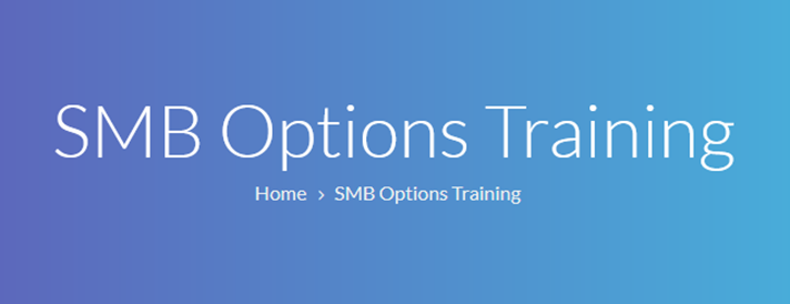 SMB - Options Training