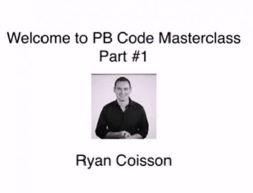 The PB Code Masterclass – Stock Options Trading Course – Ryan Coisson