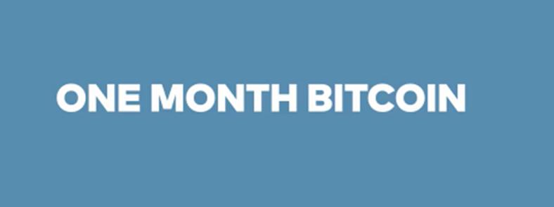 Bitcoin Crash Course - One Month Bitcoin