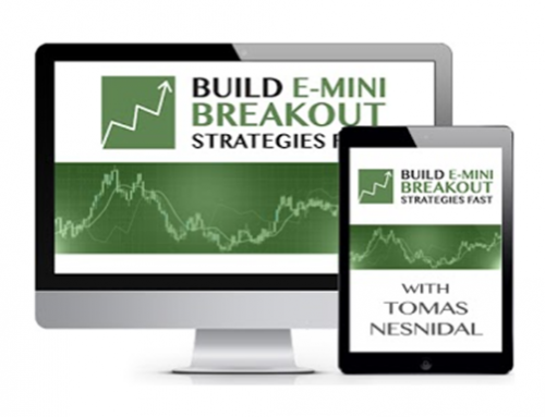 Build E-mini Breakout Strategies Fast – Tomas Nesnidal