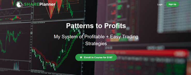 Patterns to Profits - Share Planner