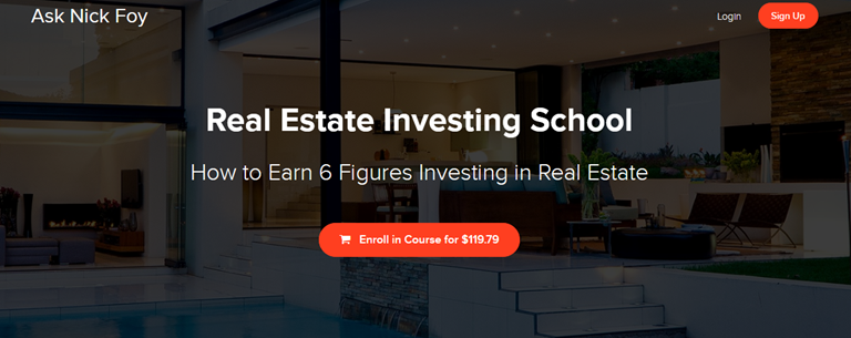 Real Estate Investing School - Nick Foy