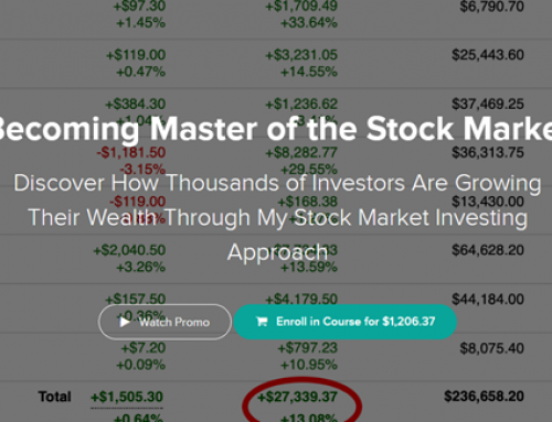 Becoming Master of the Stock Market