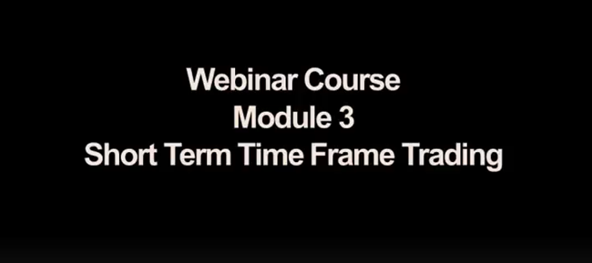 Trader Dante - Module 3 - Short Term Time Frame Trading In The Bund