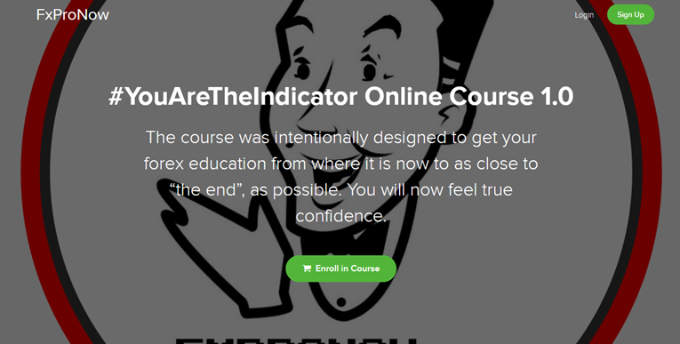 You AreThe Indicator Online Course 1.0 - FXProNow