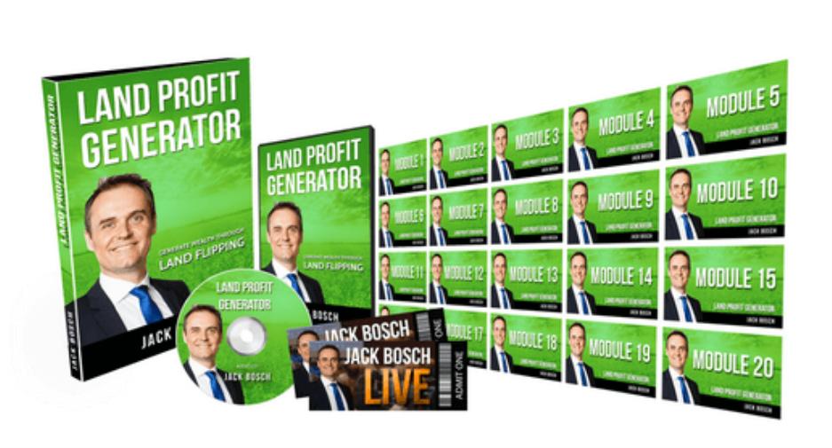 Jack Bosch – Land Profit Generator 2