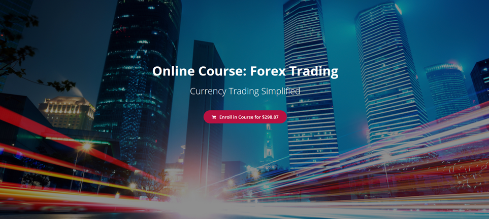 forex trade course online