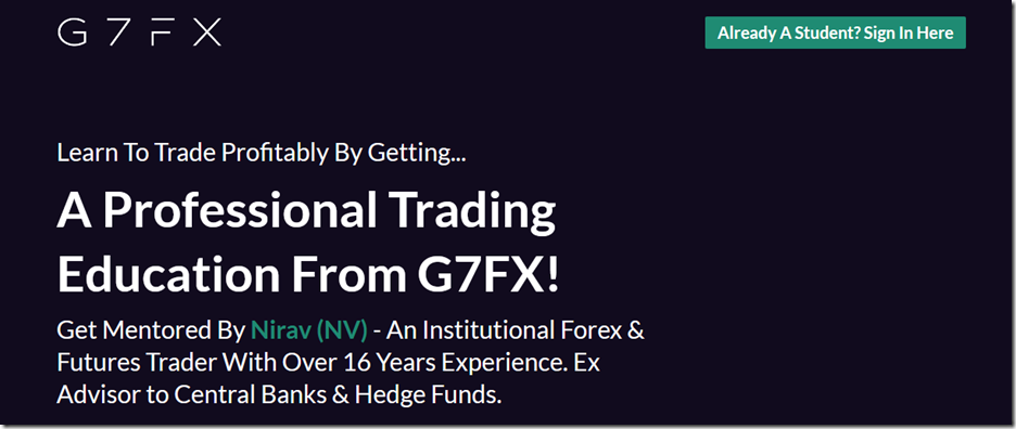G7FX – Foundation Course
