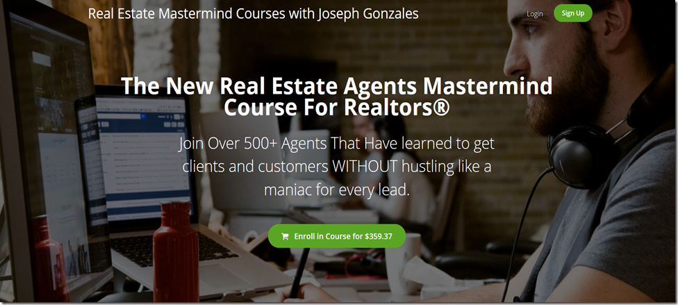The New Real Estate Agents Mastermind Course For Realtors