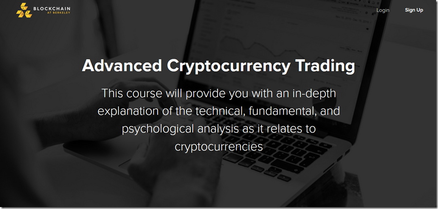Advanced Cryptocurrency Trading - Blockchain at Berkeley