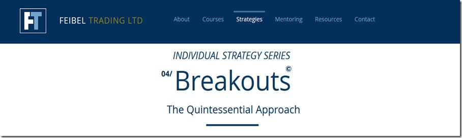 Feibel Trading - Breakouts